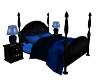 Comfy Blue Bed