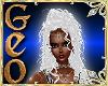 Geo Doro White silver