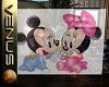 ~V~Mickey & Minnie Glass