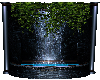 Blue Ice Fountain