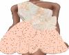 Peach Surrender Dress