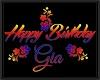 GIA birthday balloons