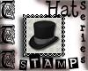 TTT Top Hat Stamp