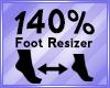 Foot Scaler 140%