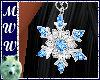 Sparkle Snowflk Earrings