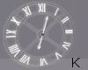 """"""" White Clock"""