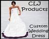 !CLJ!Custom Wedding Gown