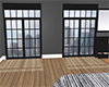 Windows with light rays