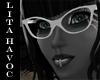 White Retro Glasses