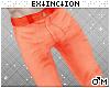 #jeans: orange