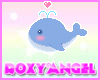 Cute Whale Sticker