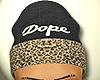 PBM Leopard Dope Beanie