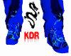 {KDR} bluerave shoes M