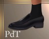 PdT Loafer Black w Sox M