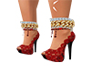 femboy rosey heels