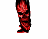 Red Skull Shoes (M)