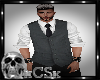 CS Mens Vest Grey