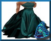 Teal Starlite Gown