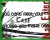 ! rest your case !
