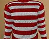 Red Striped Sweater (M)