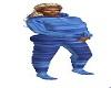 kids pj blue @1