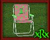 Metal Lawn Chair Frog