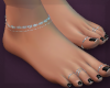 ∔FEET BARE BLK NAILS
