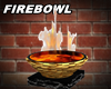 Firebowl Marble gold