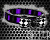 Harley Boy Collar Purple