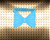 Easter Blue Bunny Bow