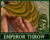 Emperor Throw Gold