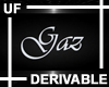 UF Derivable Gaz Sign