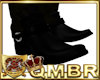 QMBR Low Cowboy Boot Blk