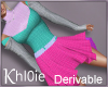 K derv combo dress