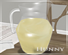 H. Lemonade Pitcher
