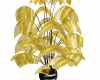 Golden Animated plant