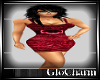 Glo* Charlie Dress Red