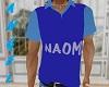 Naomi T Shirt blue