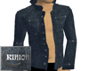 Open Mock Jean Shirt