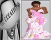 iQ Rll Pink Floral Dress
