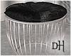 DH. Makeup Black Stool