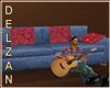 *D* Country Guitar Couch