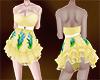 KR Yellow Short Dress