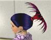 Fantail hair