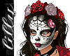 Day of the dead crown