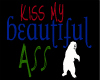 KISS My head sign