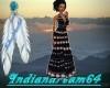 (i64)Native Long Dress