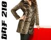 3/4 Leopard Coat