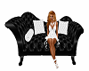~D~ Elegant Black Chaise