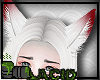 White Kitsune Ears